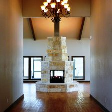 4 sided fireplace Hamilton Texas