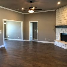 1402 Adam Ave, Burnet, TX - Room with fireplace