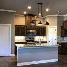 1402 Adam Ave, Burnet, TX - kitchen island