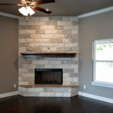 225 Sunday Dr, Burnet, TX - Fireplace