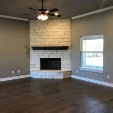1402 Adam Ave, Burnet, TX - Fireplace